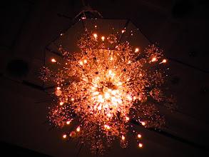 Photo: シャンデリアは球状星団みたい