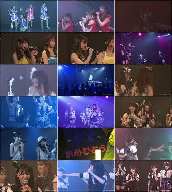 (LIVE)(公演) HKT48 チームKIV「シアターの女神」公演 岡田栞奈 卒業公演 160322