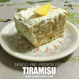 Mango and Passion Fruit Tiramisu