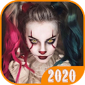 Halloween Vampire Makeup Photo Editor icon