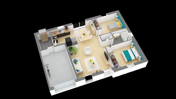 Vente maison 3 pièces 63 m2