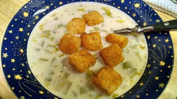 Celery Soup Deluxe Recipe