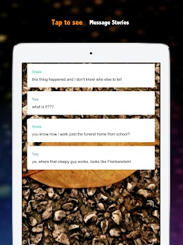 download chat stories reading scary stories text books apk