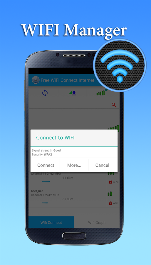 Screenshots of Free WiFi Connect Internet for Android