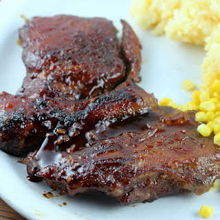 Chinese Barbecued Pork Steak.