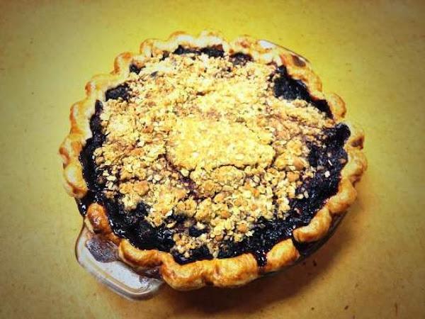 Almond Macaroon Cherry Pie Recipe