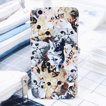 一地都係貓 iphone6 case
