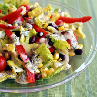 Santa Fe Salad with Chili-Lime Dressing.