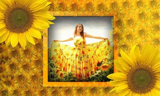 sunflower photo frames screenshot thumbnail - Sunflower Picture Frames