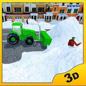 Snow Blower Truck Simulator for PC and MAC