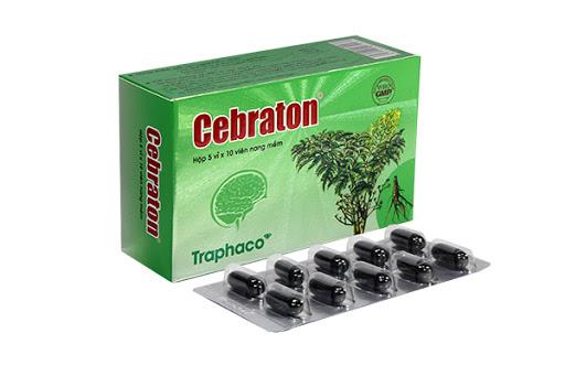 Cebraton- cải thiện cơn đau nửa đầu