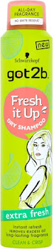 Schwarzkopf Got2b Fresh It Up Dry Shampoo - Extra Fresh, 200ml