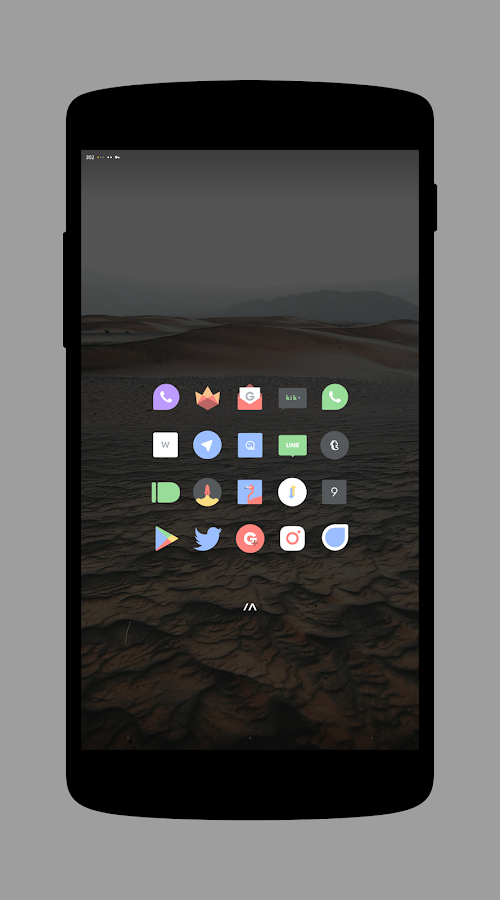 Delta - Icon Pack- screenshot