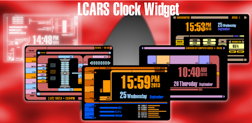 LCARS Clock Widget - by CMWMobile com - Personalization Category - 8  Reviews - AppGrooves: Get More Out of Life with iPhone & Android Apps