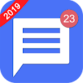 Text Messenger Home - SMS Widget and Launcher APK