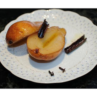 Pears Baked In Honey