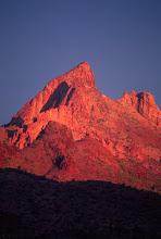 Photo: Desert Alpenglow, Signal Peak Wilderness, Arizona