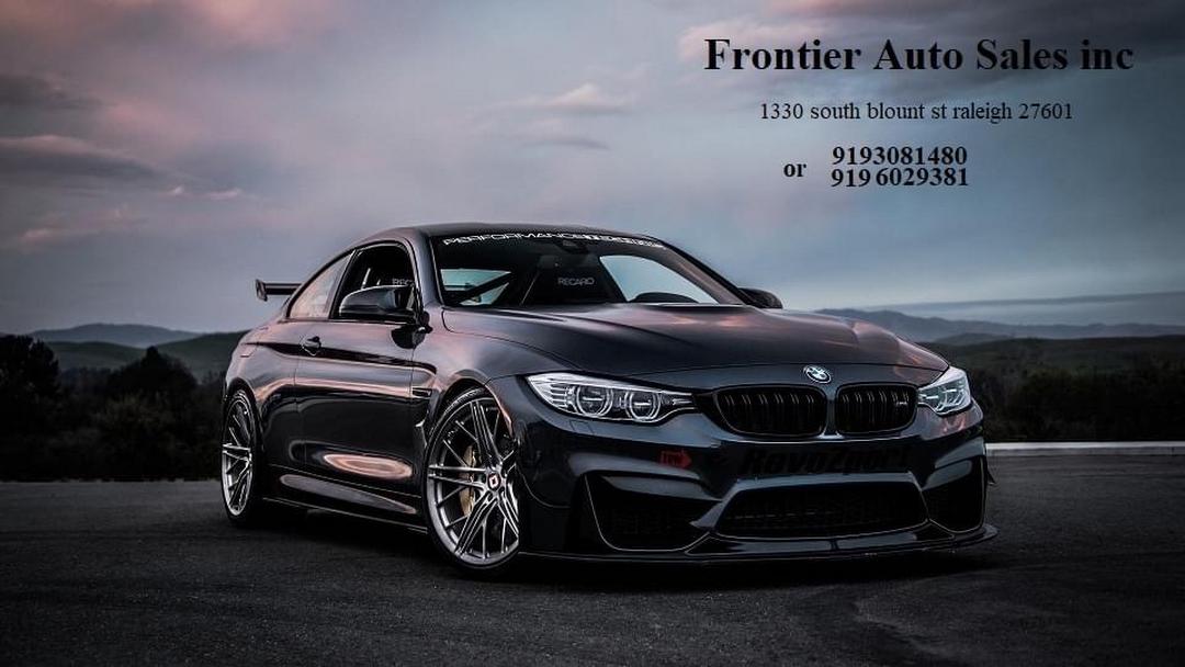 frontier auto sales inc used car dealer in raleigh frontier auto sales inc used car