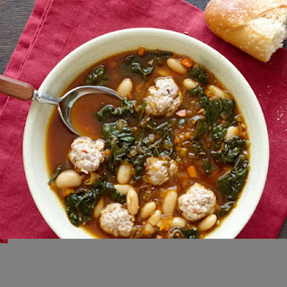 Sausage, Cannellini and Kale Soup