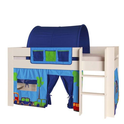 Kids World Mid Sleeper Bed Frame Pink