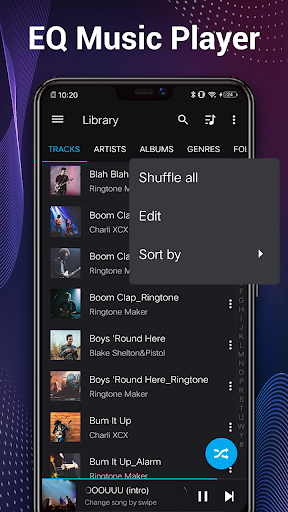 Music Player - Audio Player & 10 Bands Equalizer 1.2.9 screenshots 2