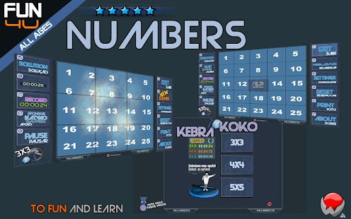 Puzzle Kebrakoko Numbers- screenshot thumbnail