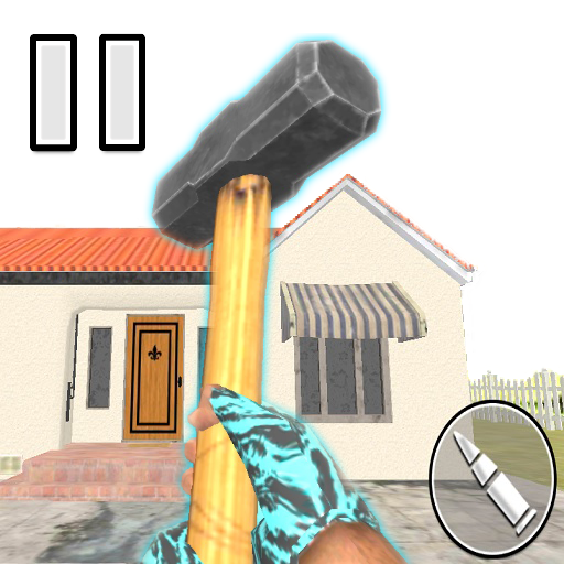 Granny Kick Neighbor - العاب مسدسات