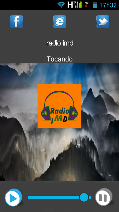 Rádio Imd- screenshot