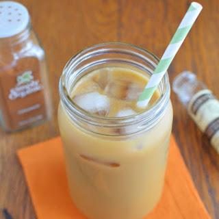 Cinnamon Iced Coffee.