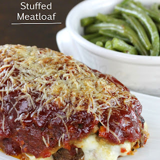 Mozzarella Stuffed Meatloaf