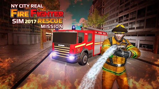 NY City Real FireFighter Sim 2017 - Rescue Mission - náhled