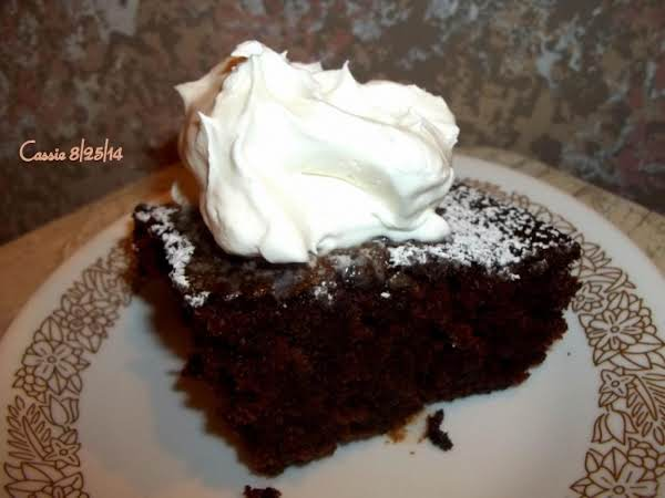 Moist Chocolate Cake In A Jiffy! Recipe