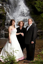 Photo: Eastatoe Falls Waterfall Wedding - Rosman, NC 6/10  - Wedding Officiant, Marriage Minister, Notary, Justice Peace - Brenda Owen - http://www.WeddingWoman.net  Photo courtesy Bliss Photography