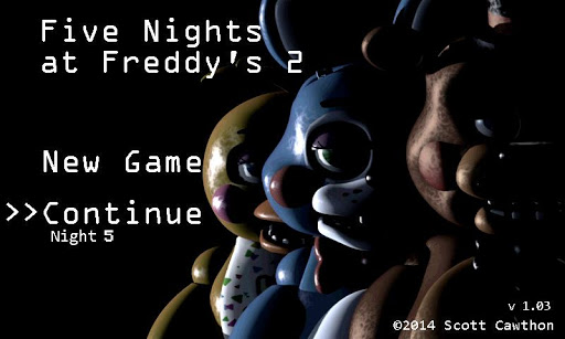 Five Nights at Freddy's 2 Demo fond d'écran 1
