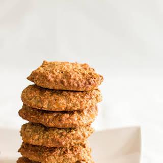 Healthy Piña Colada Oatmeal Cookies.