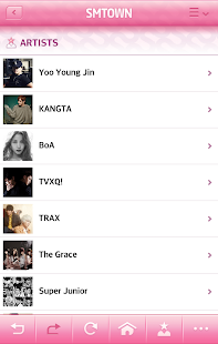 SMTOWN OFFICIAL APPLICATION- screenshot thumbnail