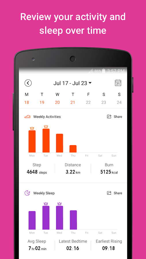 Amazfit - Activity Tracker – Screenshot