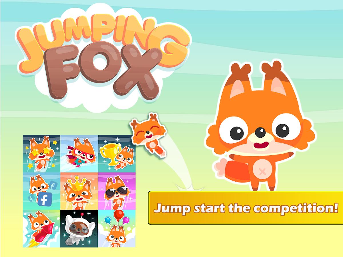 Jumping Fox: Climb That Tree! Screenshot 3