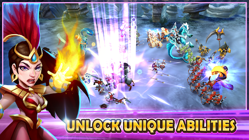 Wartide: Heroes of Atlantis Spiele (apk) kostenlos herunterladen für Android/PC/Windows screenshot