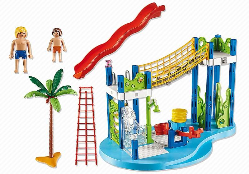 Contenido de Playmobil® 6670 Zona de Juegos Acuática