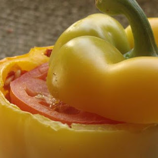 Stuffed Peppers With Ground Turkey.