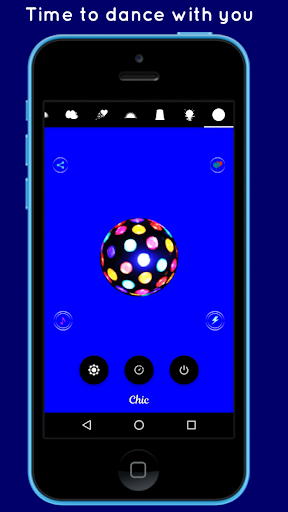 Color Lights Flashlight app (apk) free download for Android/PC/Windows screenshot