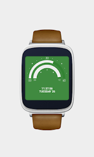Semicircle Watch Face Screenshot