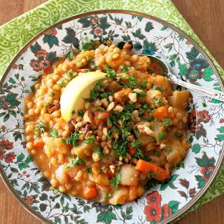 Vegan Roasted Root Vegetable Stew Recipe