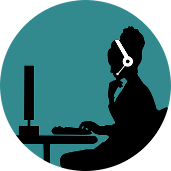Call, Customer, Support, Woman