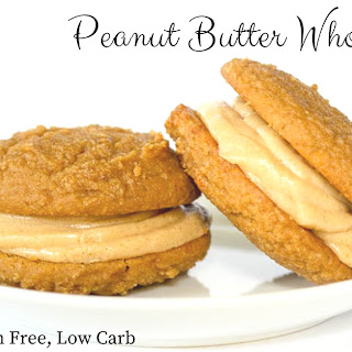 Peanut Butter Whoopie Pies – Low Carb & Grain Free