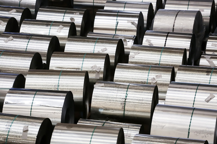 Steel coils.  Picture: BLOOMBERG