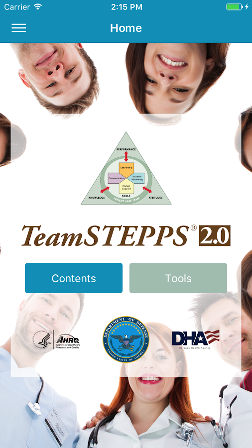 TeamSTEPPS® Pocket Guide- screenshot