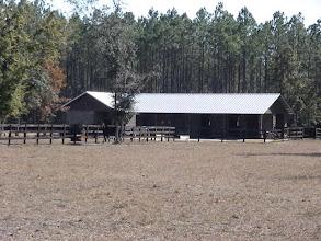 Photo: The horse barn
