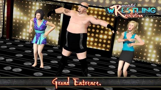 World Wrestling Revolution - Free Wrestling Games - náhled